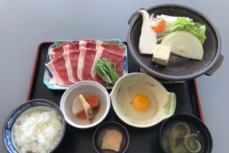 ☆新メニュー☆好きさ!すき焼き定食